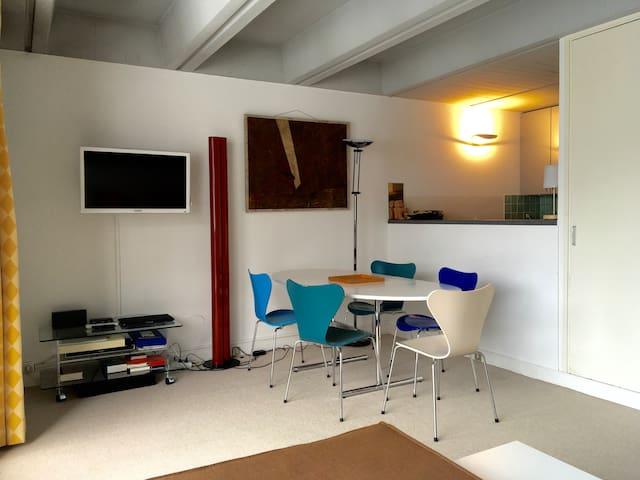 Flaine Forum - appt 2 pièces au pied des pistes - Arâches-la-Frasse - Appartement