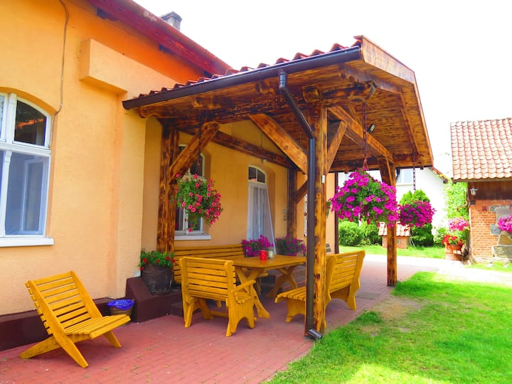 Quiet and relaxing house in Mazury.