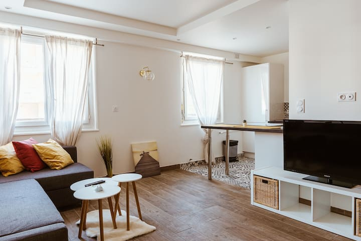 Apartment in city - 20min from Geneva & Parking