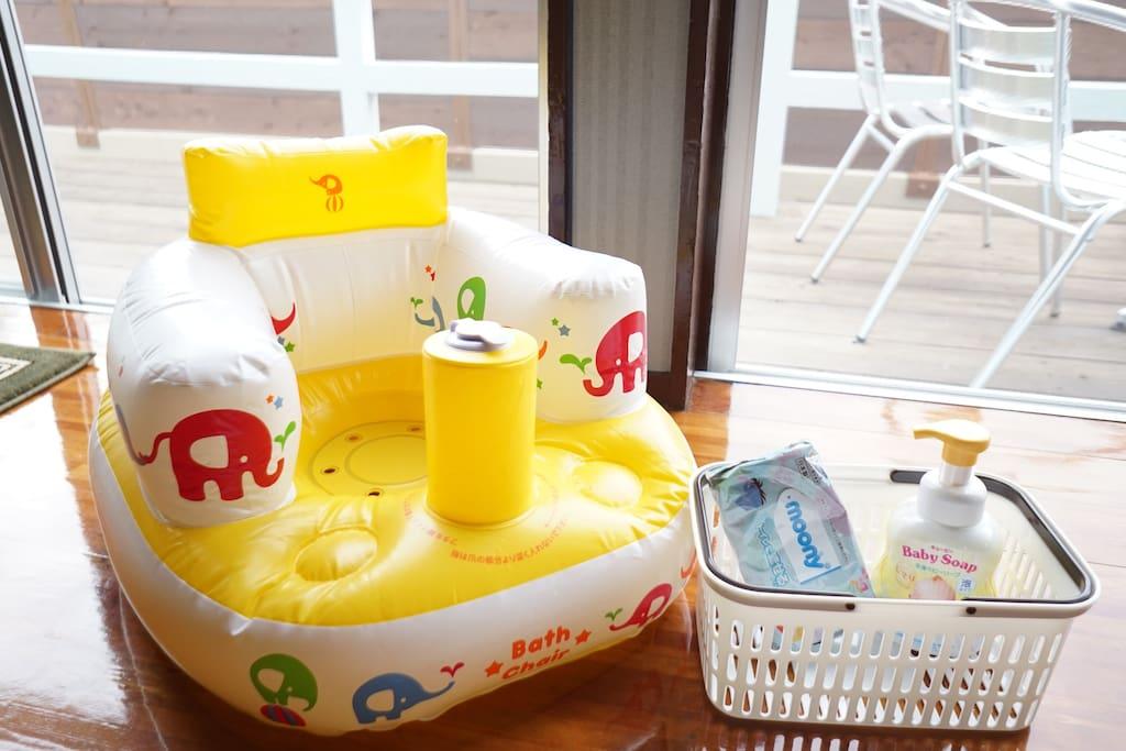 ベビー用品も充実☆ We are baby friendly-hotel!