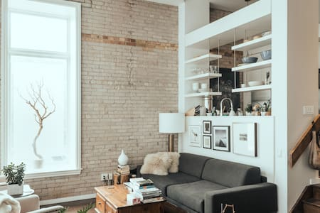 Private Room in Hard, Downtown Toronto Loft