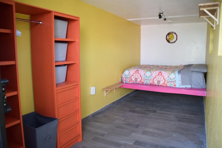North container bedroom.