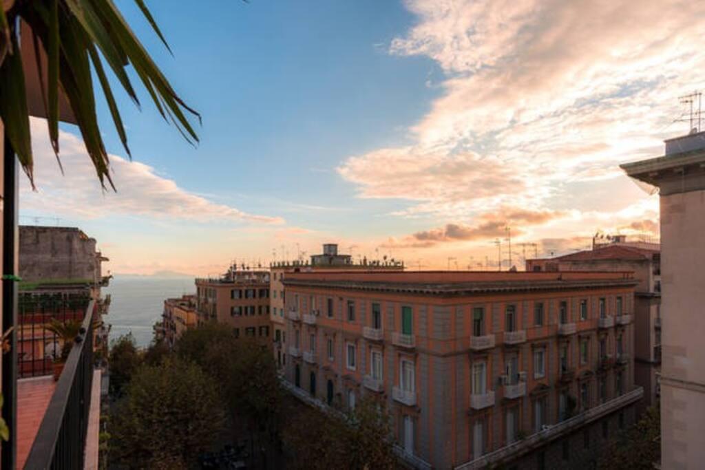 Dal balcone del soggiorno