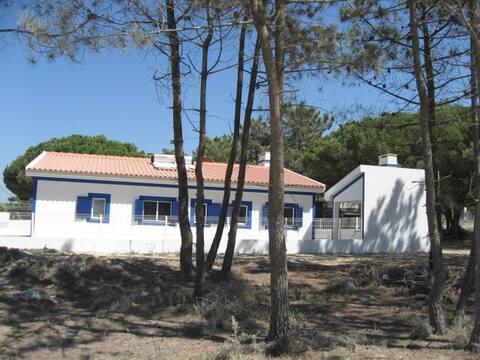 Stunning  beach Villa for 6  at Lagoa de Albufeira