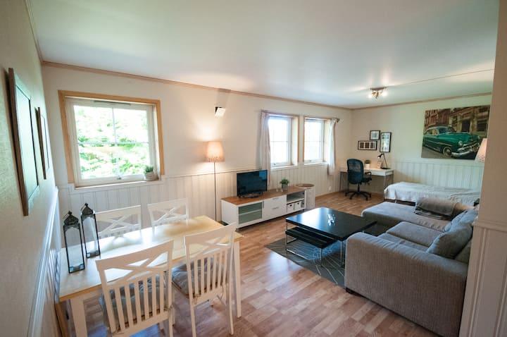 Quiet and cozy apartment near Lillestrøm