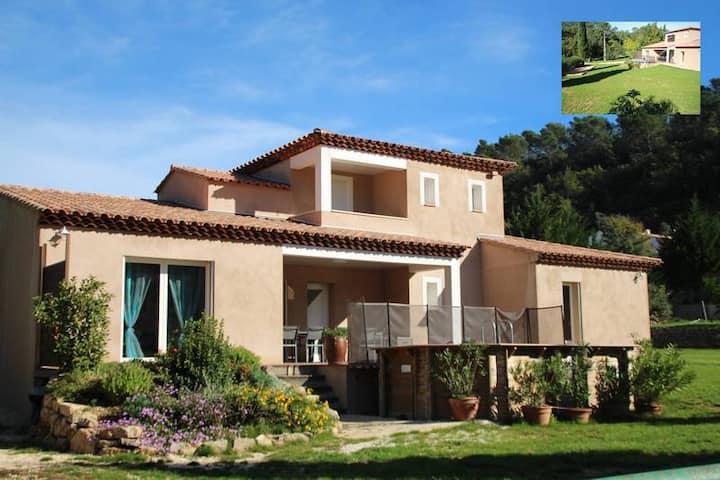 Villa Piscine La Dilettante en Provence Verte VAR