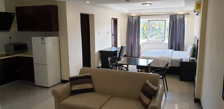 Private spacious studio apartment