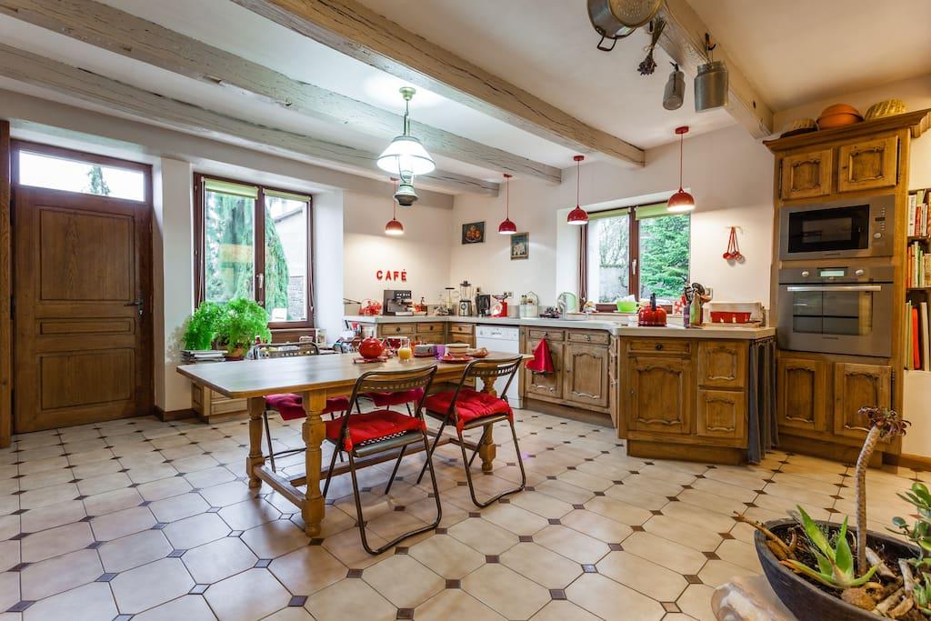 la maison d 39 isabelle g tes louer vouthon haut lorraine france. Black Bedroom Furniture Sets. Home Design Ideas