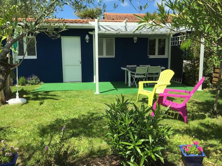 Seignosse STUDIO Cosy climatisé sur jardin/piscine