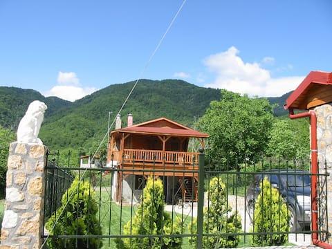 """Ξενώνας """"Το Ξύλινο"""" με κήπο και θέα στο Βουνό"""