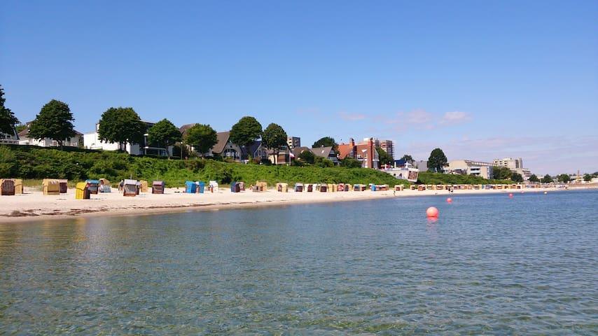Strandperle Kiel-Schilksee, 100 Meter zum Strand - Kiel - Apartamento
