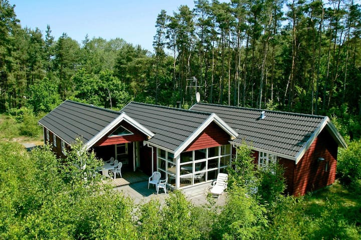 Modern Holiday Home in Aakirkeby with Sauna