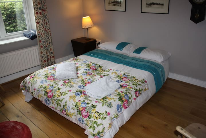 Large double room in Oxford (Jericho) - WC & Desk