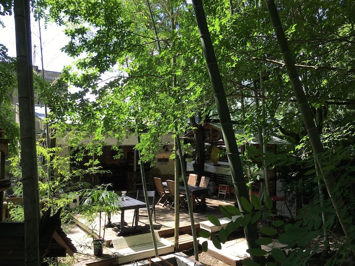 【朝食付き】箱根 杜の宿 個室  KATSURA