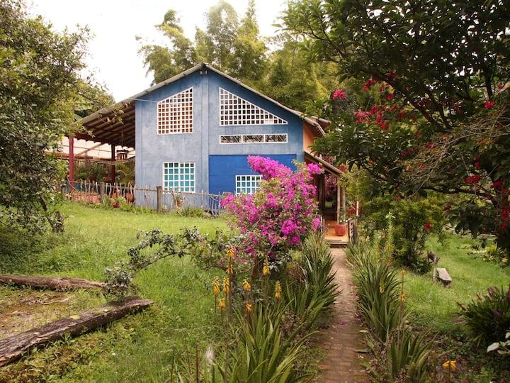 Casa azul de Montaña/ Popayán Rural
