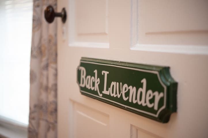 The Beal House | Back Lavender Suite