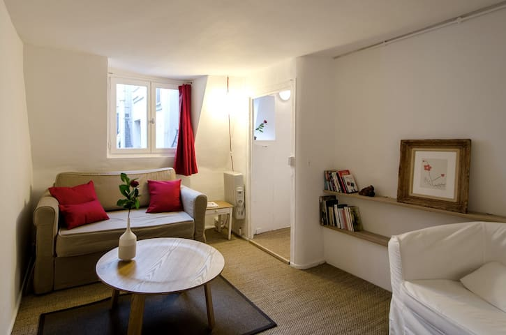 Cute 2 rooms between Louvre and Opéra !
