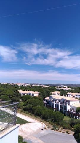 Overlooking the Sheraton Resort next door