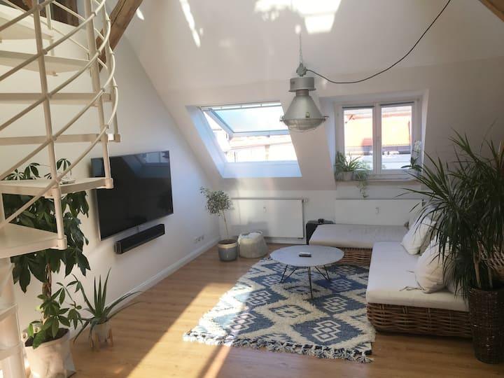 tolle Maisonette-Wohnung - ruhig & zentral