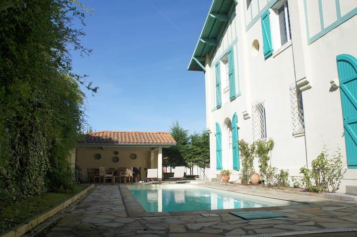 Villa Berroeta : à 5 min de la grande plage