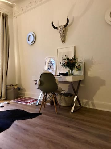 Cosy stylish room near to the city and alster