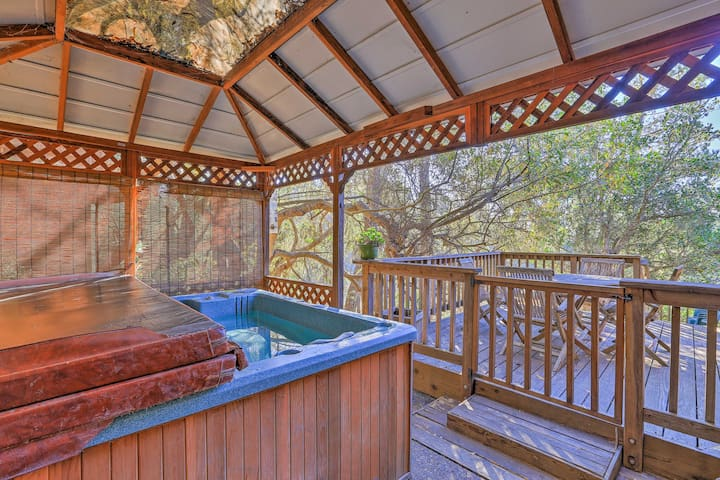 This property boasts ocean views and a bi-level deck to enjoy them from!