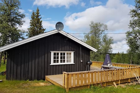 Koselig og effektiv hytte på Golsfjellet (60 kvm)
