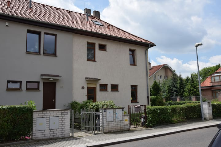 Family house few minutes to centre of Prague
