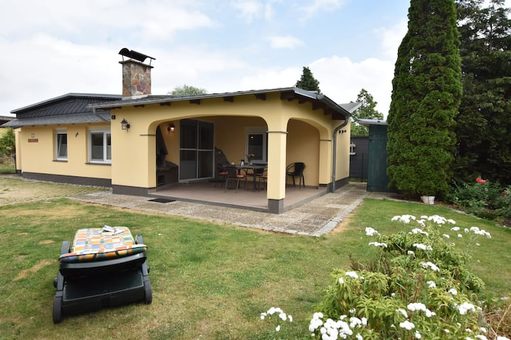 Attractive Holiday Home in Roggow with Fenced Garden