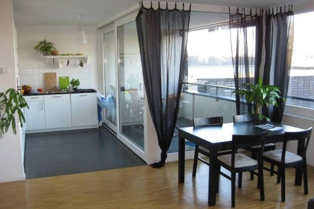 Two floor apartment next to messe apartments for rent in for Two floor apartment