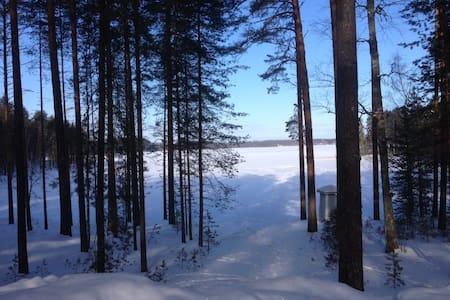 Отдых в Финляндии, озеро, пляж