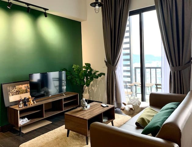 Cozy Studio with Modern Design and Excellent View