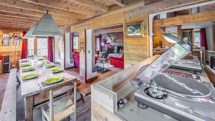 Rustic Chalet 5bd for rent