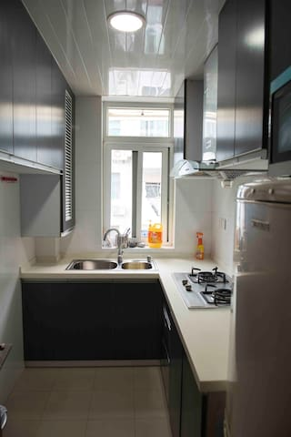 Central Jing'an, quiet 1 bedroom apartment - Shanghai - Appartamento