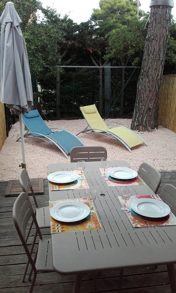 Studio Cabine - Cap Agde 4pers - Résidence piscine