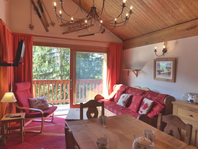 3 rooms flat for 6 pers. in MERIBEL ROND POINT DES PISTES