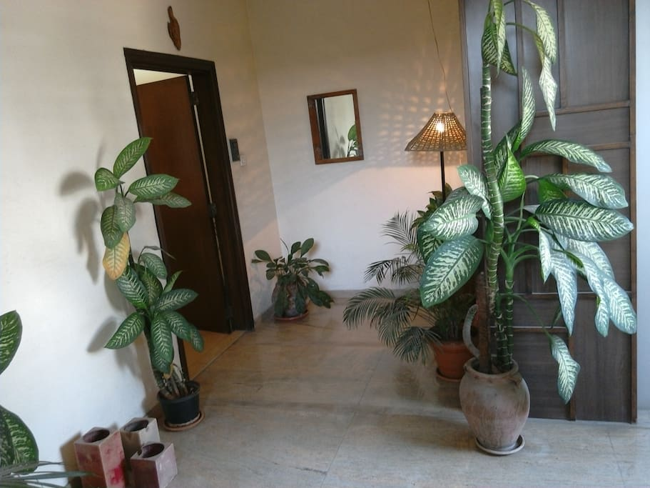 Elevator Entrance Lobby to the House