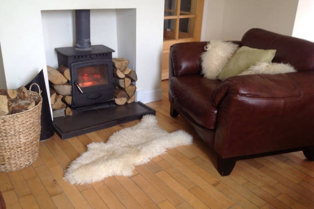 Cosy nights by the wood burning stove