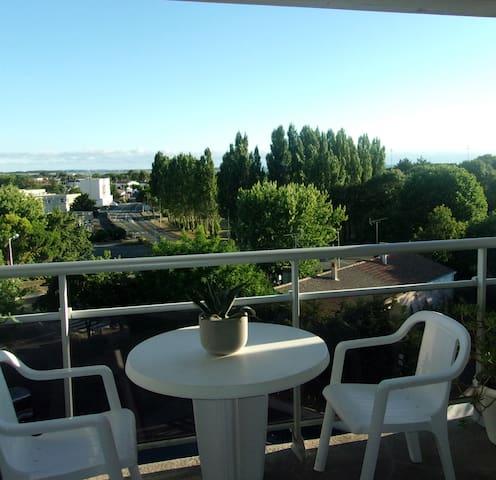 Chambre avec vue panoramique sur la mer - Aytré - Apartament