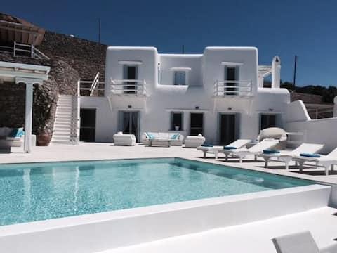 Overlooking the Greek archipelago