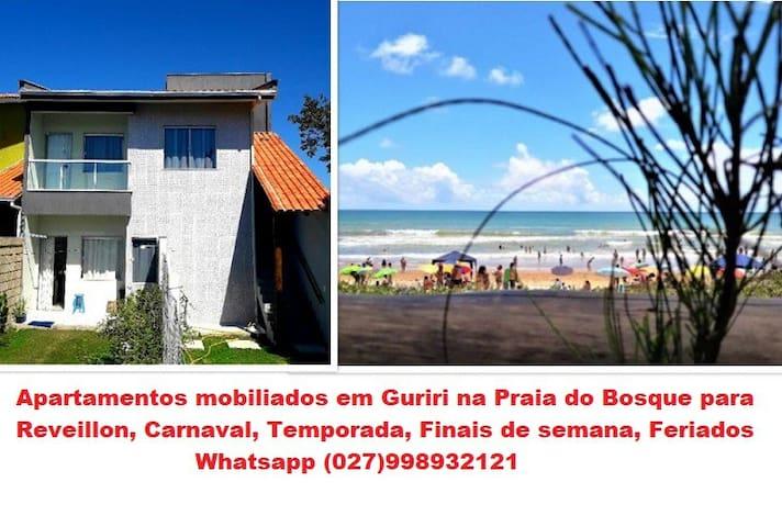 Lindos apartamentos proximo a praia em Guriri - ES