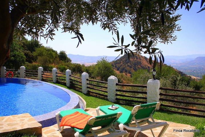 Villa El Lagar Rocabella - Málaga - Villa