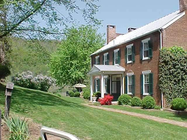 Valley View circa 1855 brick farm manor home