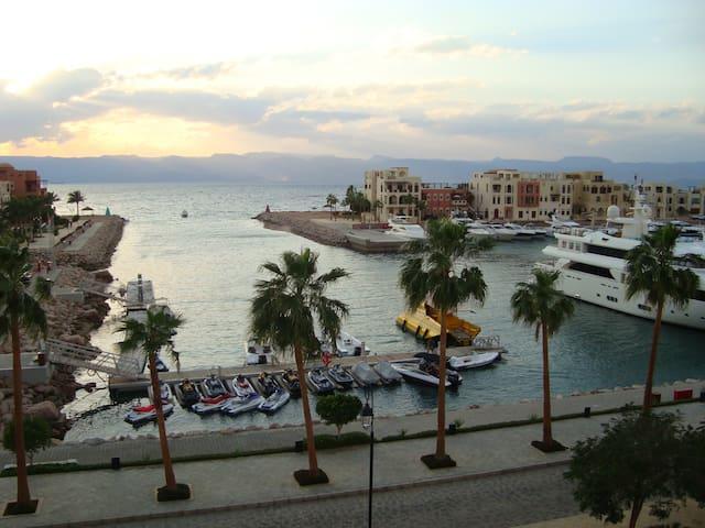 Two Bedroom Sea View Apt-Tala Bay Resort, Aqaba
