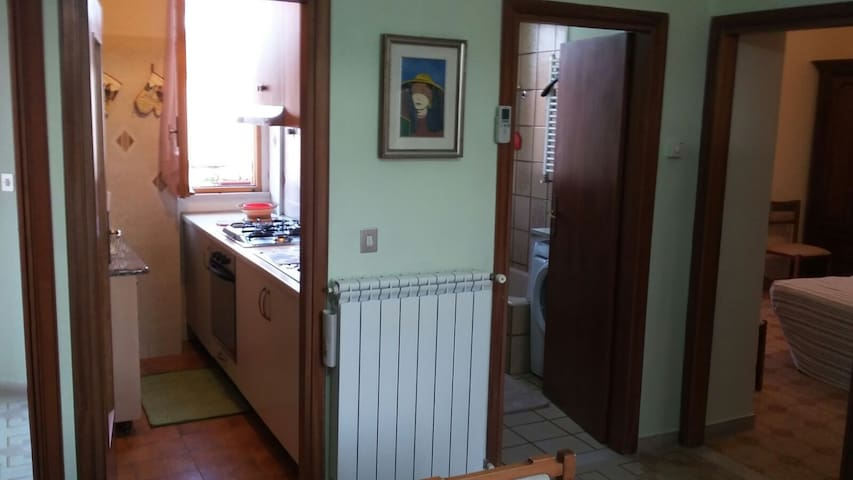 COSY ITALIAN APARTMENT NEAR GREAT WHITE BEACH - Sant'Andrea Ionio Marina - Lägenhet