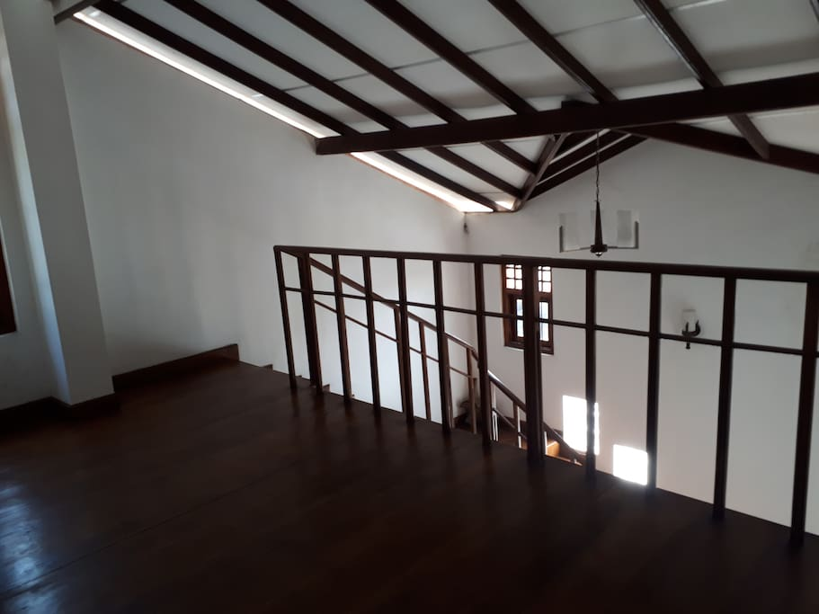 Fully wooden upstairs
