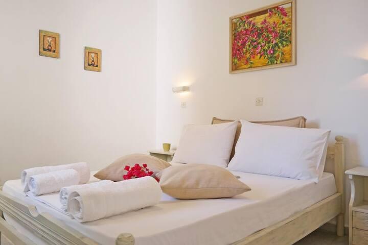 Naxos Sandy Beach - Seaside Terrace Retreat