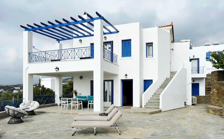 Beba's Villa 1 (Batsi, Andros Greece)