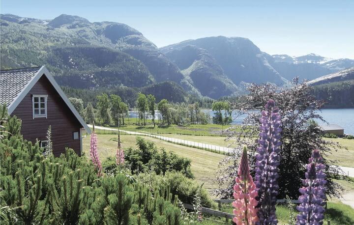 Nice home in Svelgen with 2 Bedrooms
