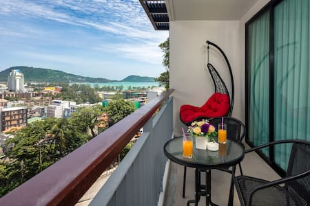 Sea & Mountain views Apartment @Patong beach- 500m
